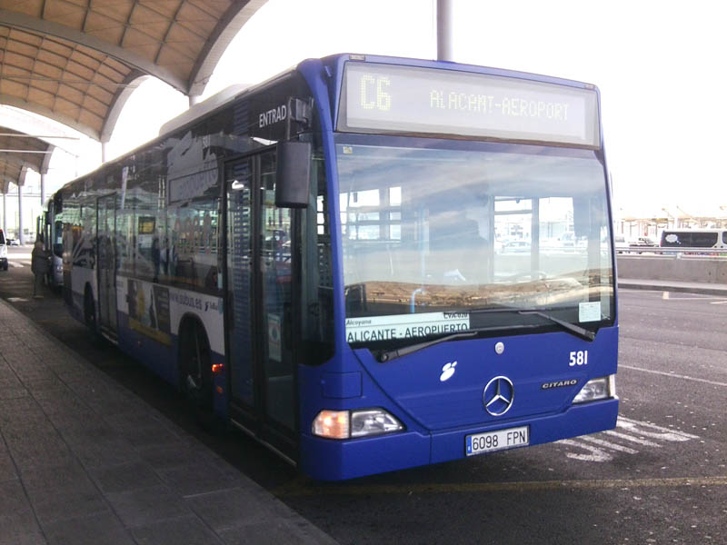 Автобусы из аэропорта аликанте в аликанте фото
